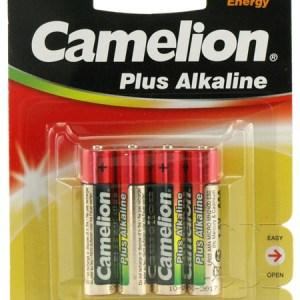 Battery Alkaline 1,5V AAA LR03 4pack Camelion