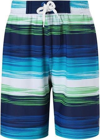 Reima Uv shorts faktor 50+ Biitzi randig blå grön strl 110