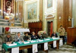 """Quali prospettive concrete per il futuro del territorio. Conferenza dei """"Lions"""" nella chiesa Madre"""