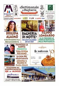 Copertina del Settimanale di Bagheria n.ro 889  del 02 Agosto 2020