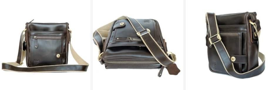 กระเป๋าผู้ชาย หนังแท้ admin chocolate