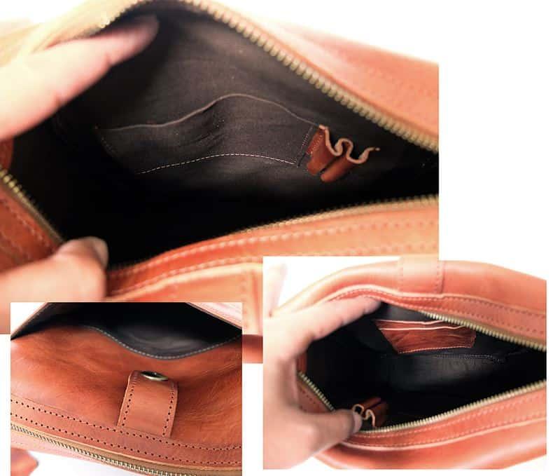 ช่องภายในกระเป๋าหนัง ชาย Admin vertical