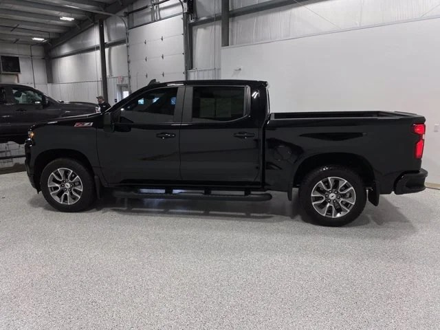 2020 chevrolet silverado 1500 rst heated leather bose sunroof dual exhaust 20 in painted wheels