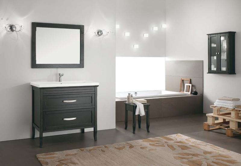 Maniglie per mobili in legno stile moderno. Bagni In Legno Moderni E Rustici Bagnolandia