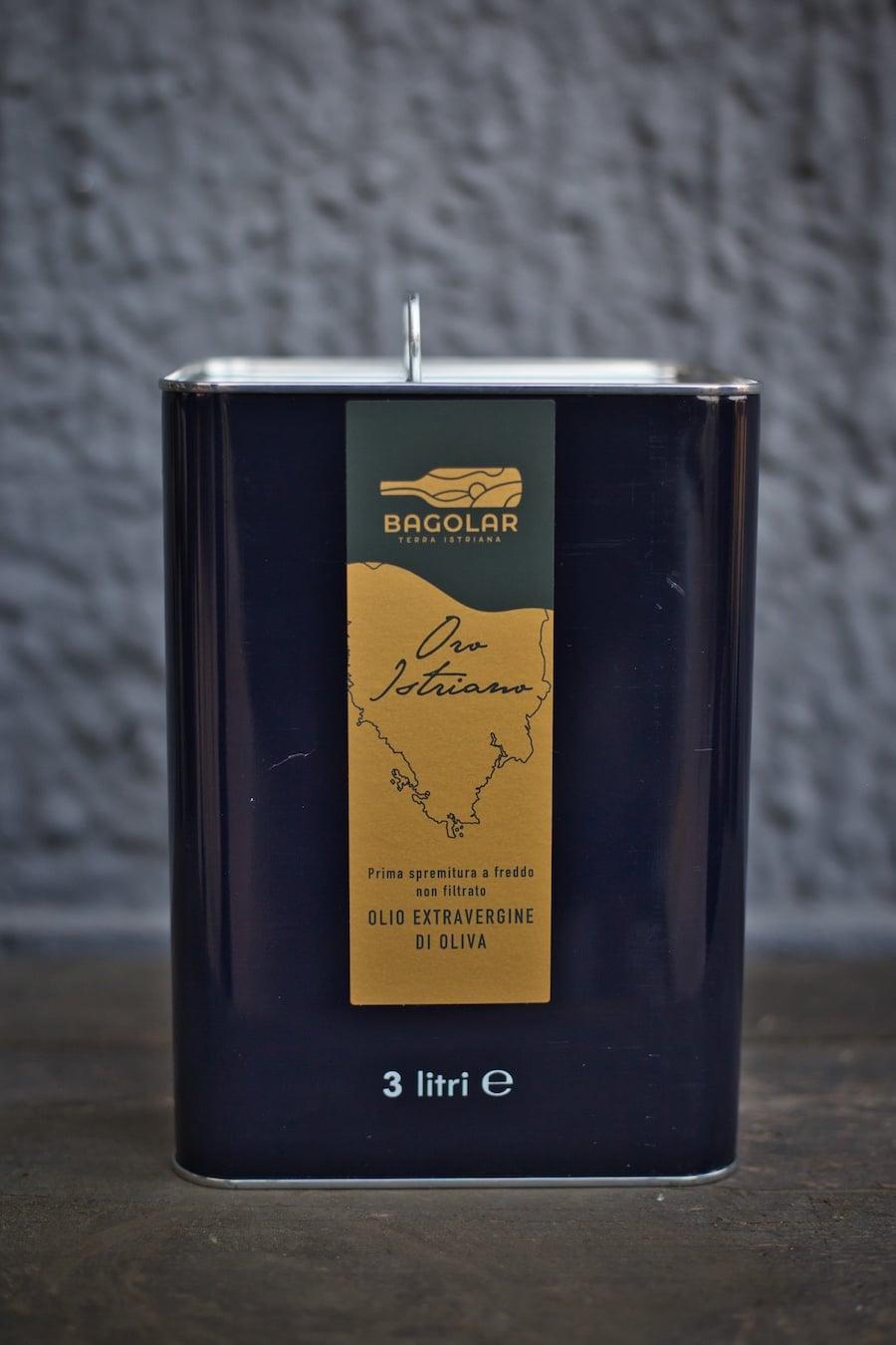Bagolar - Olio Evo - Latta 3lt black