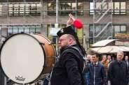 Auftritt vor dem Hauptbahnhof Essen