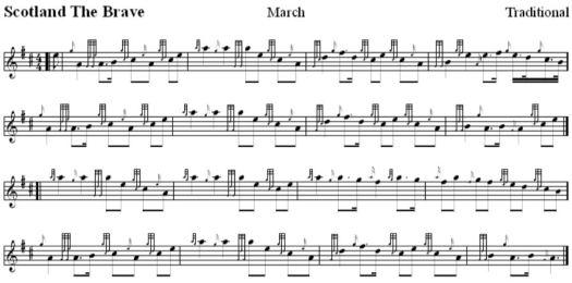 Schottische Nationalhymne