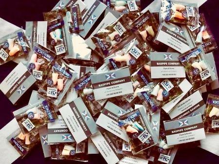 Fanpackages BAGPIPE COMPANY Fanpackages BAGPIPE COMPANY mit MOLDEX Gehörschutzstöpseln