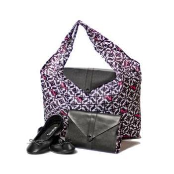 Damn Heels - ballerinaskor/väska