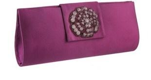 Metro Purple Clutch