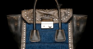 Prada Denim Flap Bag