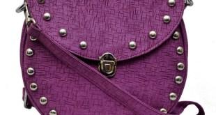 Murcia Purple Studded Sling