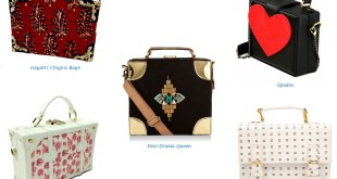 Box Bags, Desi Drama Queen, Spades. Piccadilly, ANQI, Gayatri Chopra Bags
