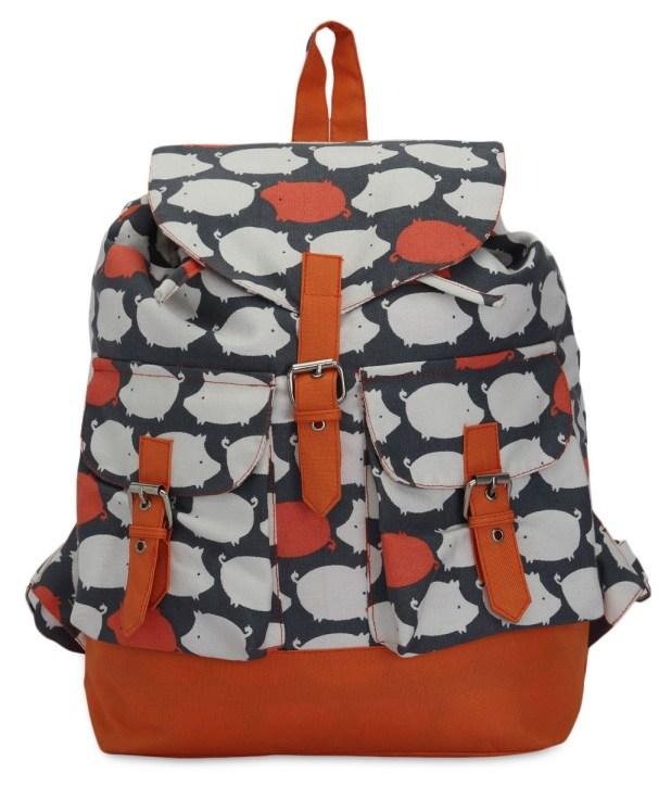 Limeroad Orange-Blue Backpack