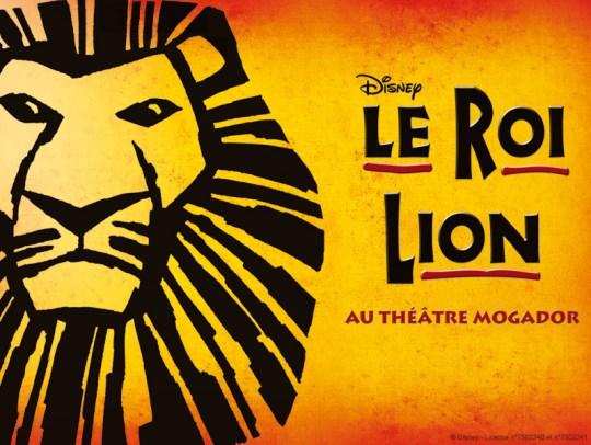Le Roi Lion au Théâtre Mogador cadeaux de noel comédie musicale