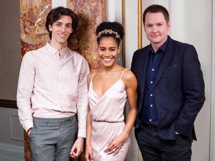 Rhys Whitfield, Lucy St Louis et Killian Donnelly pour Phantom of the Opera à Londres ©Tim Bret-Day