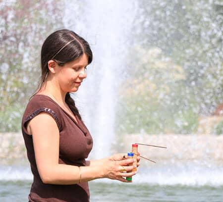 Recherche eau baguettes sourcier