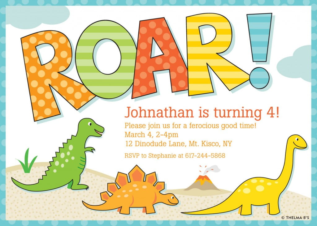 Cool Birthday Party Invitations