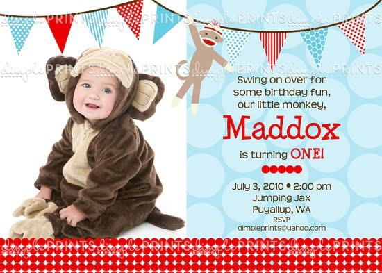 https www bagvania com sock monkey birthday invitations html sock monkey birthday invitations templates