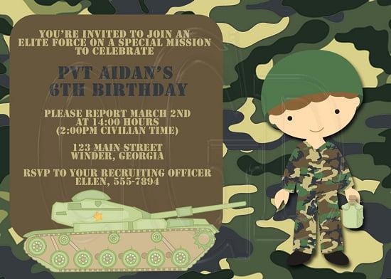 Create Birthday Invitation Card Online