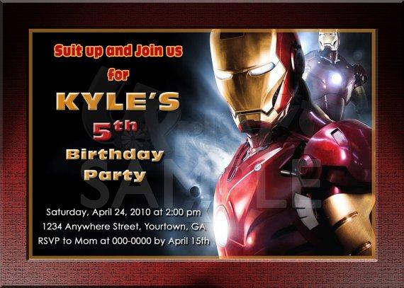 Birthday Invitations 5th