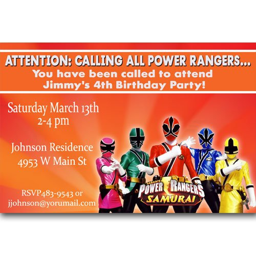 Order Party Invitations Online