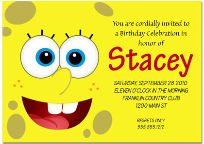 What To Write On A Birthday Invitation Card – Writing Birthday Invitations