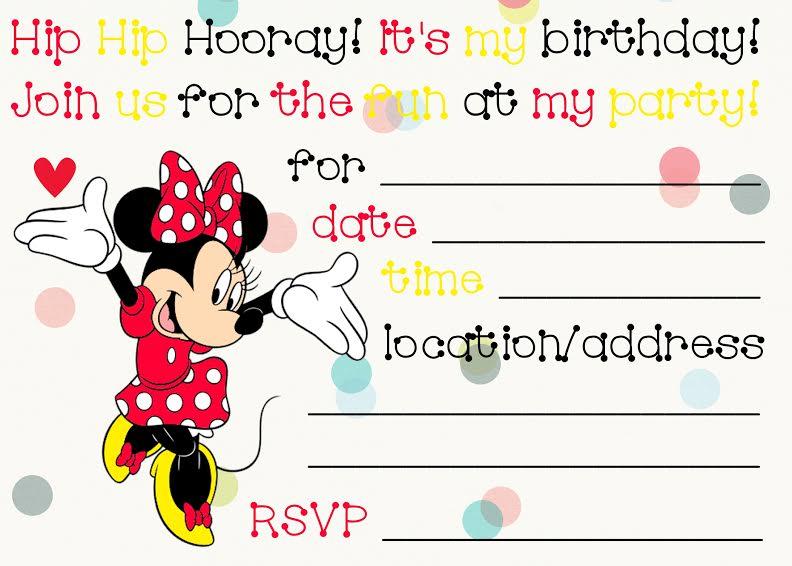 printable minnie mouse birthday