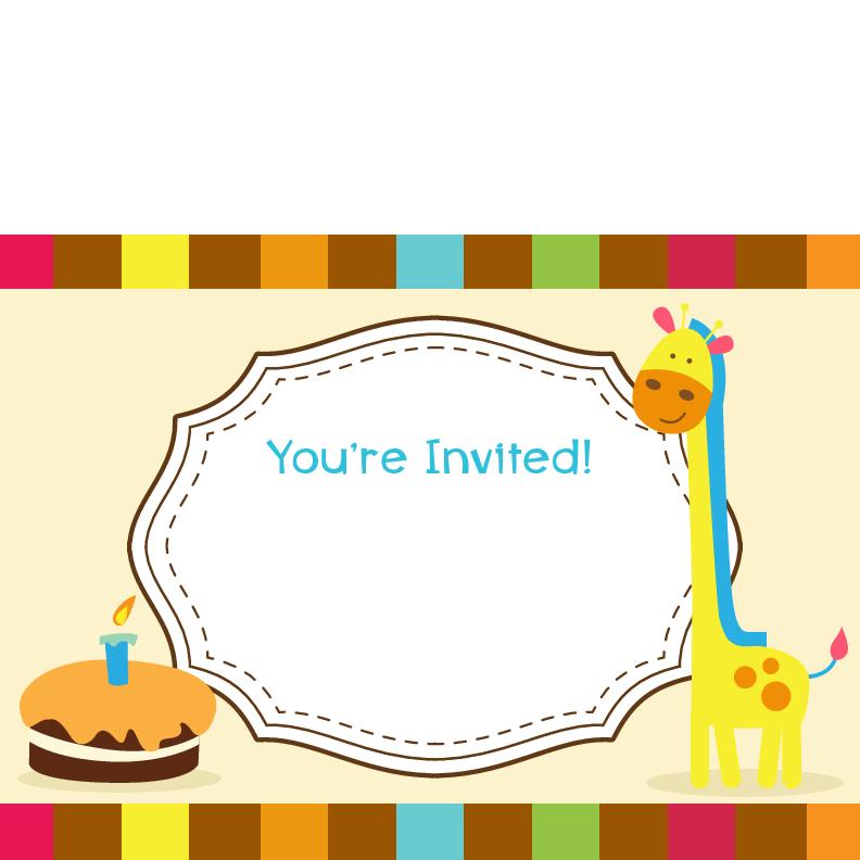 Bow Tie Birthday Party Invitations