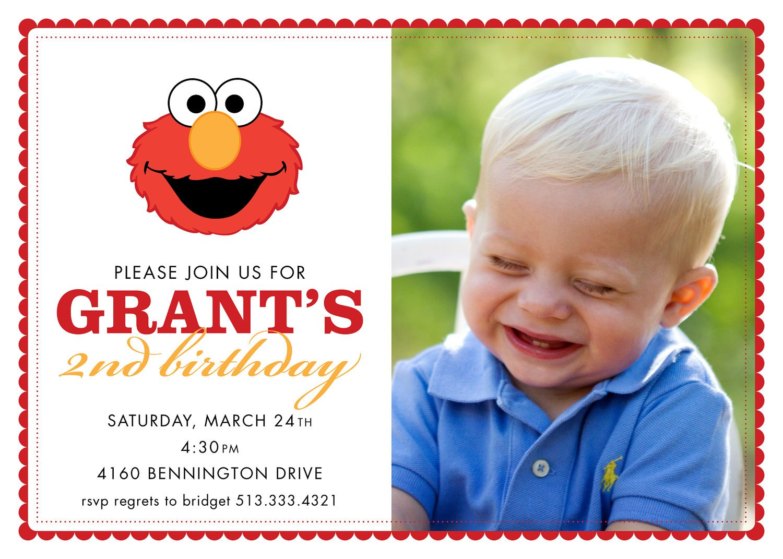 First Birthday Invitation Card Baby Boy