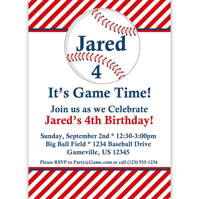 free printable baseball birthday