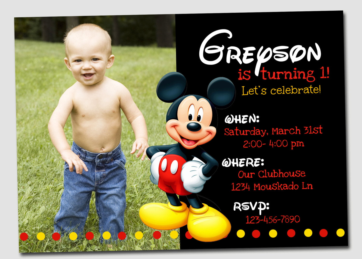 free mickey mouse clubhouse birthday