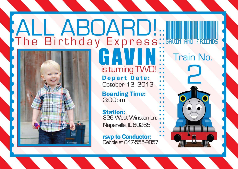 free printable train birthday