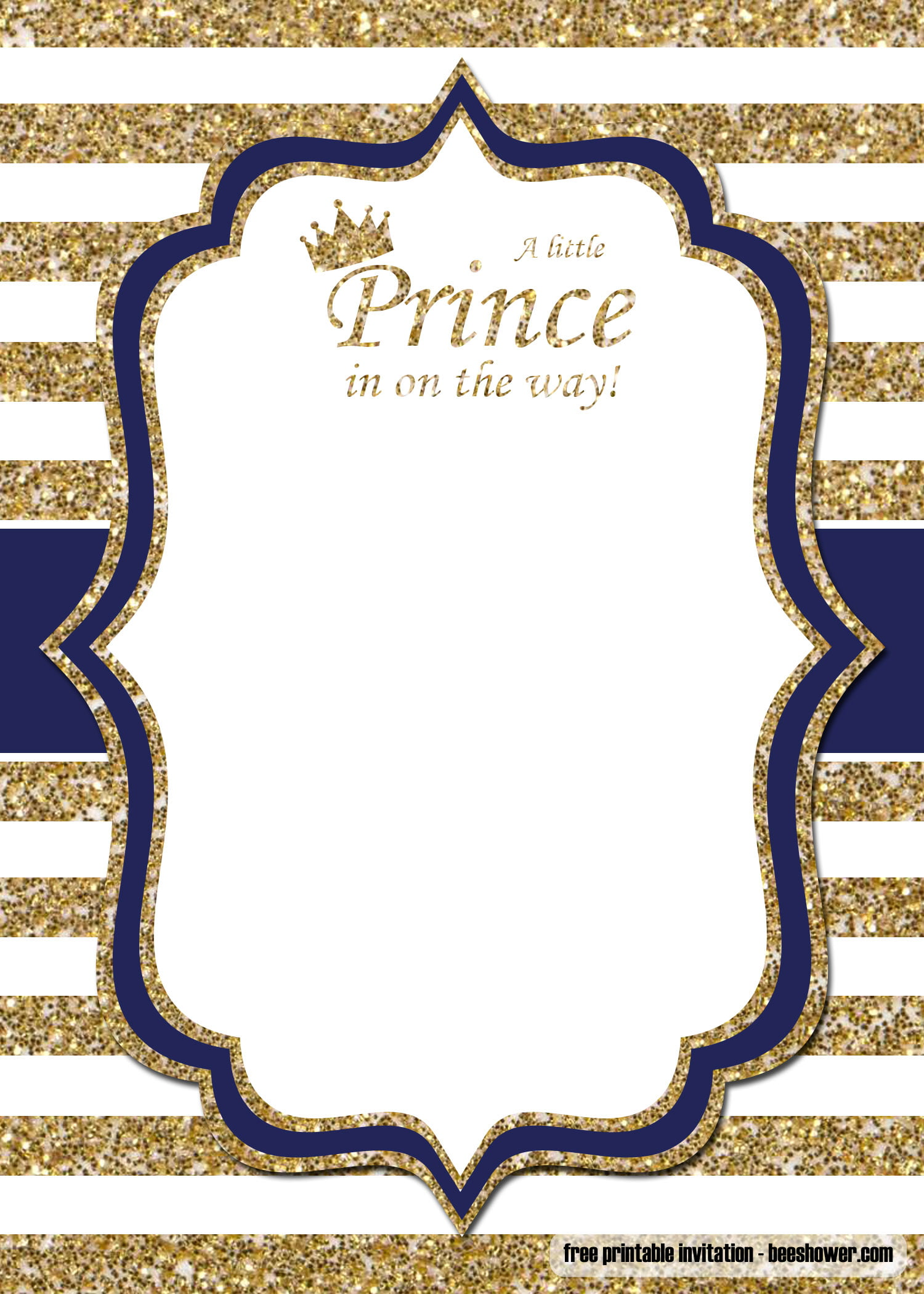 Free Prince Baby Shower Invitations Templates Free Printable Birthday Invitation Templates
