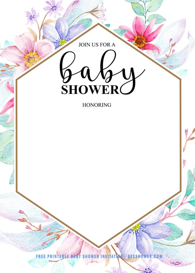 Free Baby Shower Invitation For