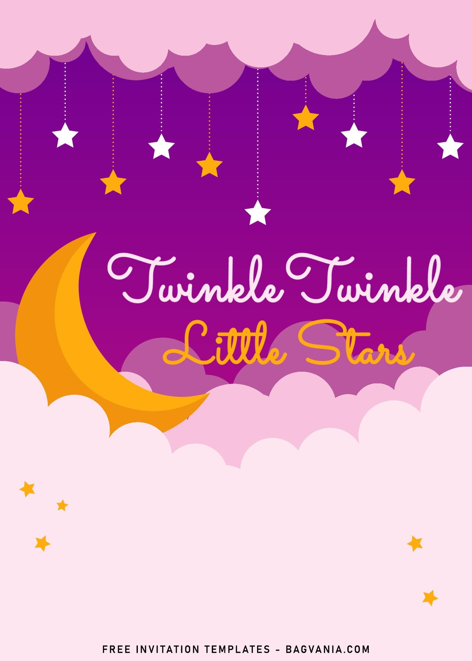 twinkle twinkle little star birthday
