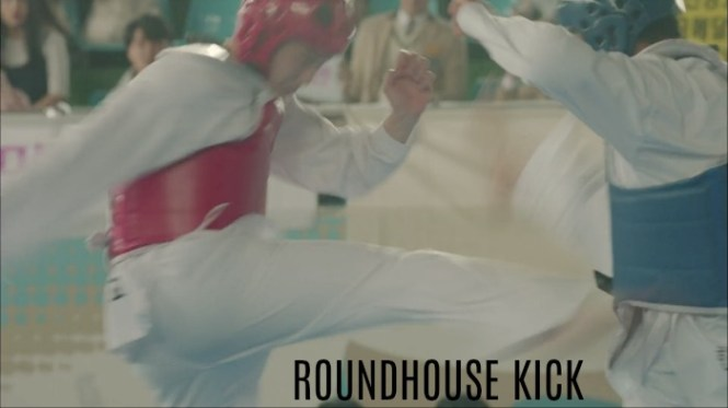 Fight for my way signature kick