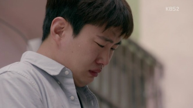 Fight For My Way Joo-man crying