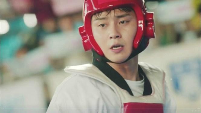 Ssam My Way Park Seo Joon spinning kick