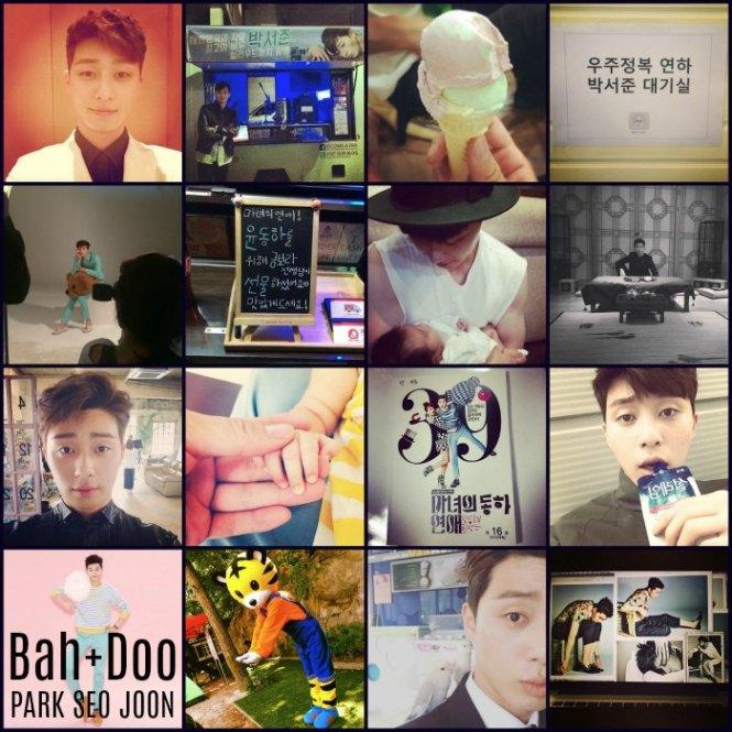 박서준 Instagram Part I