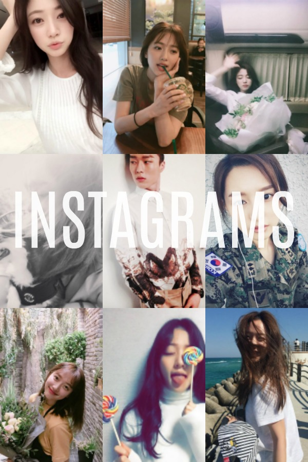 Instagrams Korean Stars