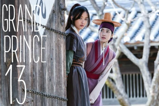 Live recap for episode 12 of the Korean drama Grand Prince starring Yoon Shi-yoon and Jin Se-yeon