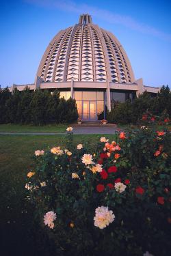 The Bahá'í House of Worship in Langenhain, Germany. © Bahá'í International Community. http://media.bahai.org/subjects/6992/details