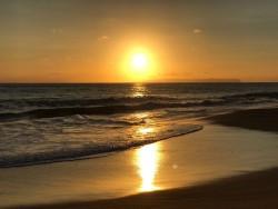 Le coucher de soleil à Hawaï a marqué la fin de la période du bicentenaire