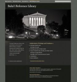 Plus de 100 sélections inédites et non traduites des écrits bahá'ís ont été publiées sur la Baha'i Reference Library, qui a également été mise à jour avec de nouvelles améliorations du site.