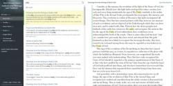 Une nouvelle fonction de recherche sur la Baha'i Reference Library permet au lecteur de naviguer facilement parmi les résultats.