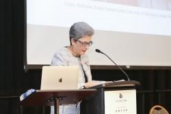 À l'issue de la conférence, Mme Mahmoudi, titulaire de la chaire bahá'íe, a déclaré : « La recherche de la paix doit être pérennisée car les obstacles sont importants et complexes. Nous devons apporter des idées nouvelles dans ce processus. Nous devons éveiller les consciences des gens à cette entreprise complexe. Nous devons rassembler plus de personnes partageant les mêmes points de vue pour explorer les idées et les stratégies fondamentales. »