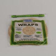 "Wrap Tortilla Whole Wheat 12"""