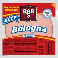 Beef Bologna Meat Sliced