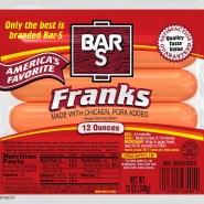 All Meat Frank Bun Length